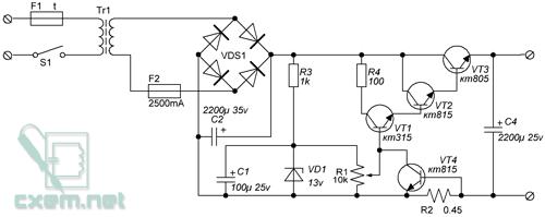Простой стабилизатор напряжения на 3в купить конвекторный сварочный аппарат
