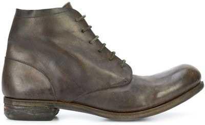 11e61c8d8 Одна из самых дорогих моделей lace-up ankle boots изготовлена из 100%  лошадиной кожи и имеет зеленоватый оттенок.