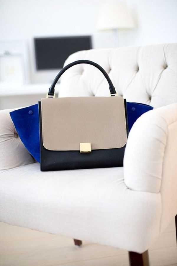 9909fdcf0b04 Celine Trapeze — еще одна сумка, которая очень популярна среди  знаменитостей и женщин, интересующихся модой. Как и большинство сумочек  Celine, ...